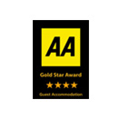 AA Logo, AA Awards Logo, AA 4 Start Inn, AA 4 Star Guest accomodation, AA Highly commended