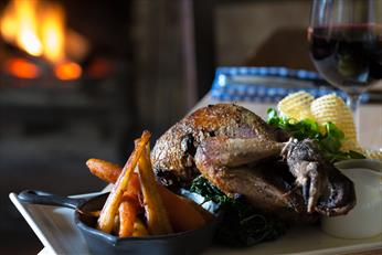 Roast Grouse, winter vegetables, open fires, game dishes, winter menu