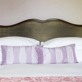 Crisp cotton sheets, cosy duvets, and feather pillows..